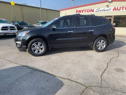 2015 Chevrolet Traverse LT for sale at Payton Select Automotive Inc. in Heber Springs AR