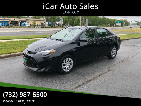 2018 Toyota Corolla LE for sale at iCar Auto Sales in Howell NJ
