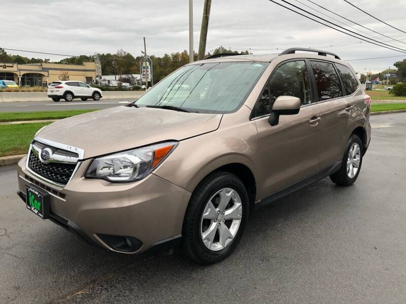 2015 Subaru Forester for sale at iCar Auto Sales in Howell NJ