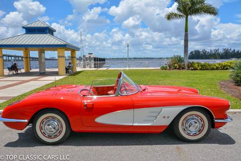 1960 Chevrolet Corvette for sale at Top Classic Cars LLC in Fort Myers FL