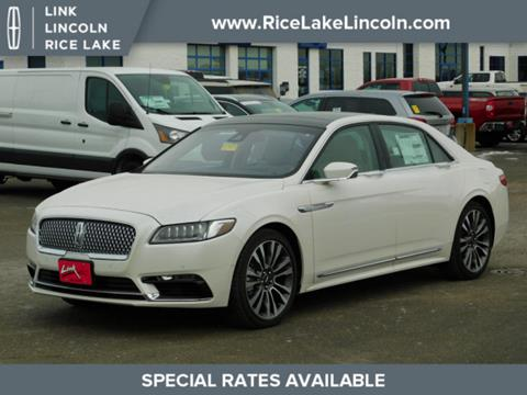 2019 Lincoln Continental for sale in Rice Lake, WI