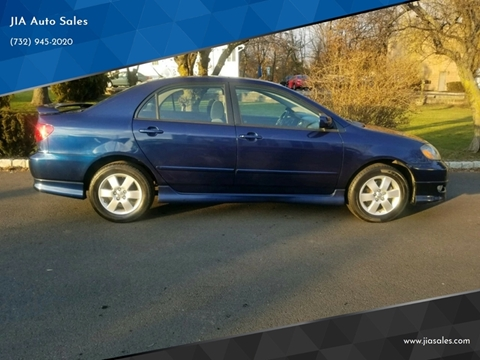 2008 Toyota Corolla for sale at JIA Auto Sales in Port Monmouth NJ