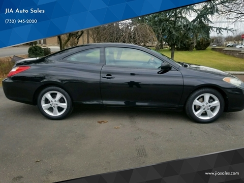 2005 Toyota Camry Solara for sale at JIA Auto Sales in Port Monmouth NJ