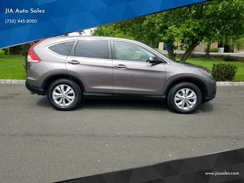 2012 Honda CR-V for sale at JIA Auto Sales in Port Monmouth NJ