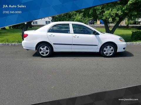 2007 Toyota Corolla for sale at JIA Auto Sales in Port Monmouth NJ