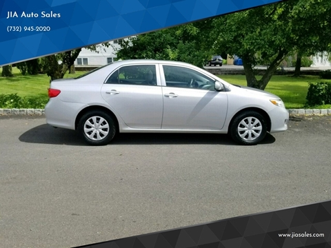 2010 Toyota Corolla for sale at JIA Auto Sales in Port Monmouth NJ