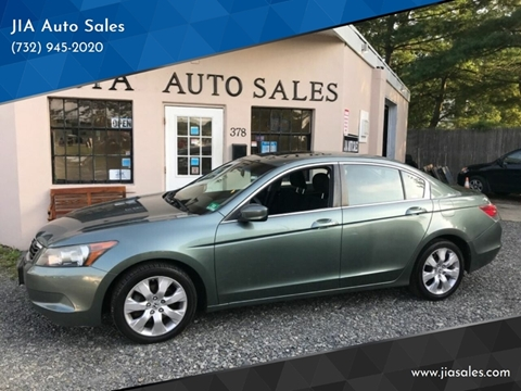 2008 Honda Accord for sale at JIA Auto Sales in Port Monmouth NJ