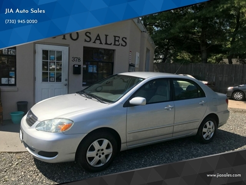 2005 Toyota Corolla for sale at JIA Auto Sales in Port Monmouth NJ
