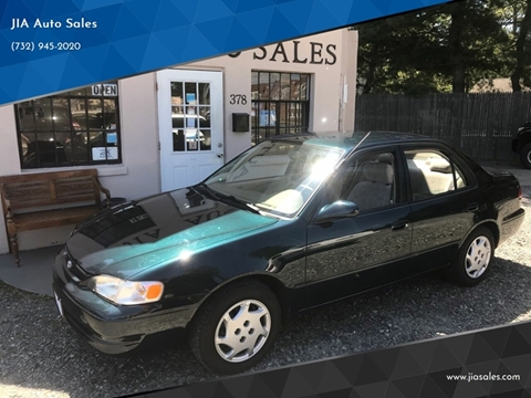 1999 Toyota Corolla for sale at JIA Auto Sales in Port Monmouth NJ