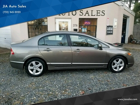 2008 Honda Civic for sale at JIA Auto Sales in Port Monmouth NJ
