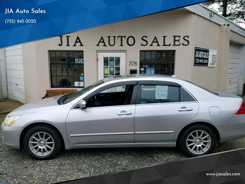 2006 Honda Accord for sale at JIA Auto Sales in Port Monmouth NJ