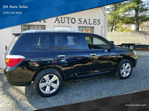 2009 Toyota Highlander for sale at JIA Auto Sales in Port Monmouth NJ