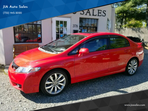 2009 Honda Civic for sale at JIA Auto Sales in Port Monmouth NJ