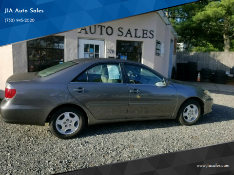 2005 Toyota Camry for sale at JIA Auto Sales in Port Monmouth NJ
