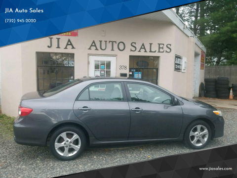 2011 Toyota Corolla for sale at JIA Auto Sales in Port Monmouth NJ