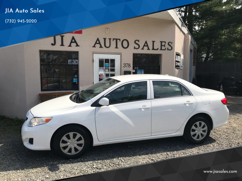 2009 Toyota Corolla for sale at JIA Auto Sales in Port Monmouth NJ