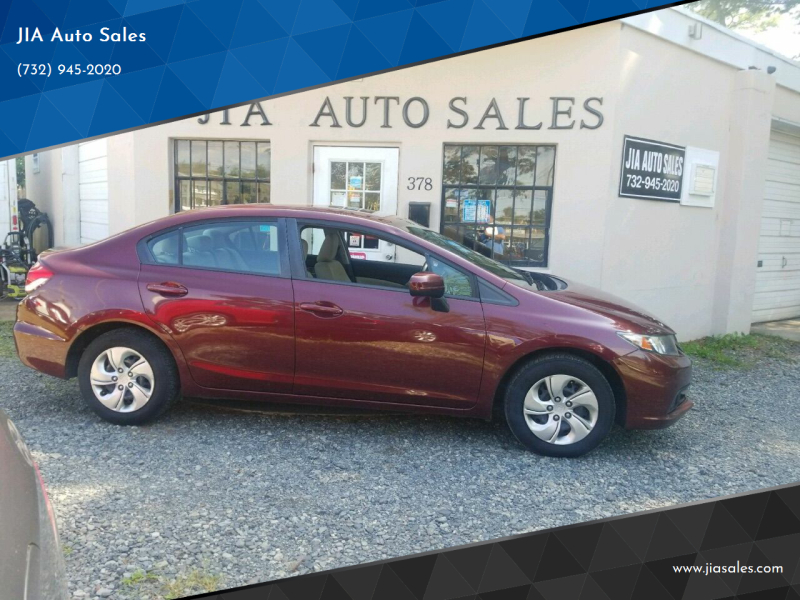2014 Honda Civic for sale at JIA Auto Sales in Port Monmouth NJ