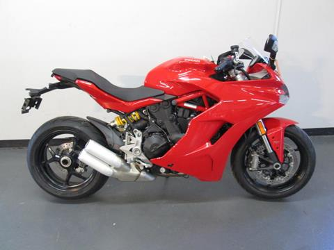 2017 Ducati SuperSport Red for sale at INTEGRITY CYCLES LLC in Columbus OH