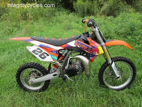 2013 KTM 85 SX for sale at INTEGRITY CYCLES LLC in Columbus OH