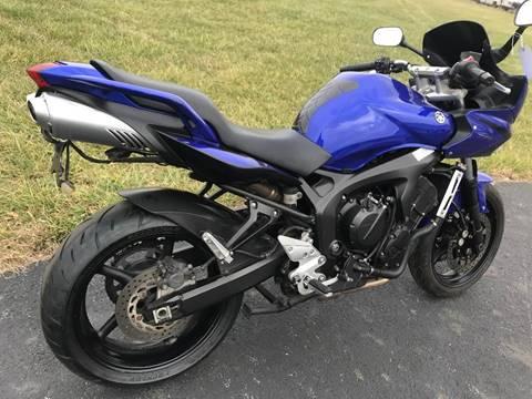 2007 Yamaha FZ6R