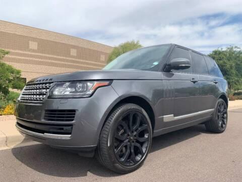 Range Rover Scottsdale >> 2015 Land Rover Range Rover For Sale In Scottsdale Az