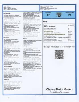 2013 Toyota 4Runner for sale at Choice Motor Group in Scottsdale AZ