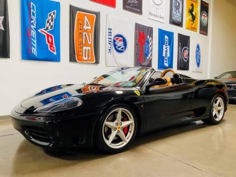 2002 Ferrari 360 Spider for sale at Choice Motor Group in Scottsdale AZ