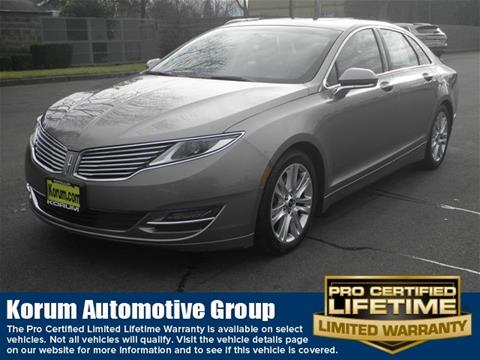 2016 Lincoln MKZ for sale in Puyallup, WA