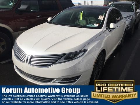 2016 Lincoln MKZ Hybrid for sale in Puyallup, WA