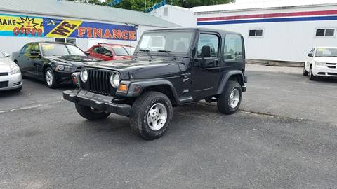 1999 Jeep Wrangler For Sale >> Jeep Wrangler For Sale In Fort Branch In Midwest
