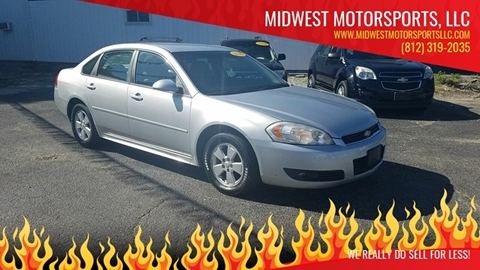 2010 Chevrolet Impala for sale in Fort Branch, IN