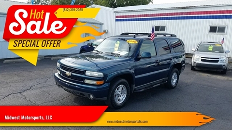 2006 Chevrolet Tahoe for sale in Fort Branch, IN