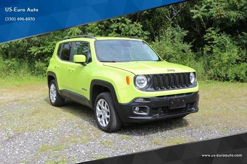 2017 Jeep Renegade Latitude for sale at US-Euro Auto in Burton OH