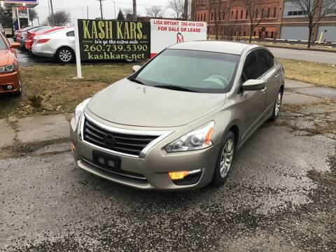 2015 Nissan Altima 2.5 SL for sale at Kash Kars in Fort Wayne IN