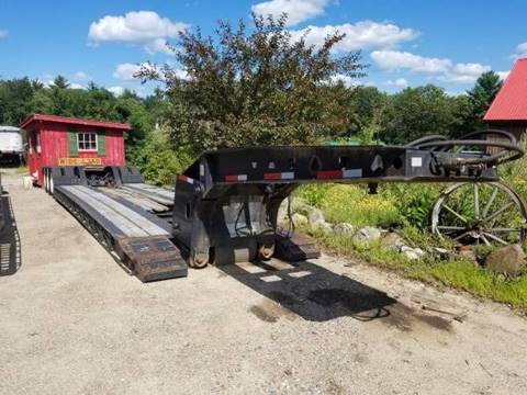 2002 Trail King Low boy for sale in Epsom, NH