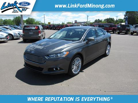 2016 Ford Fusion for sale in Minong, WI