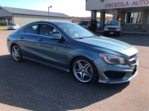 2014 Mercedes-Benz CLA for sale in Osceola, WI