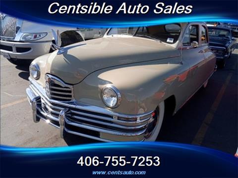 1948 Packard Deluxe 8 for sale in Kalispell, MT