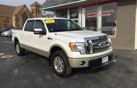 2010 Ford F-150 for sale at KUHLMAN MOTORS in Maquoketa IA