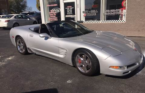 1998 Chevrolet Corvette for sale at KUHLMAN MOTORS in Maquoketa IA