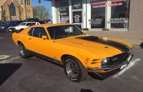 1970 Ford Mustang for sale at KUHLMAN MOTORS in Maquoketa IA