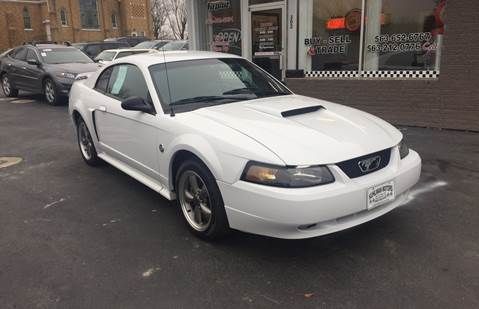 2004 Ford Mustang for sale at KUHLMAN MOTORS in Maquoketa IA