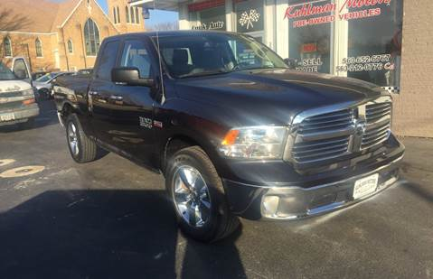 2013 RAM Ram Pickup 1500 for sale at KUHLMAN MOTORS in Maquoketa IA
