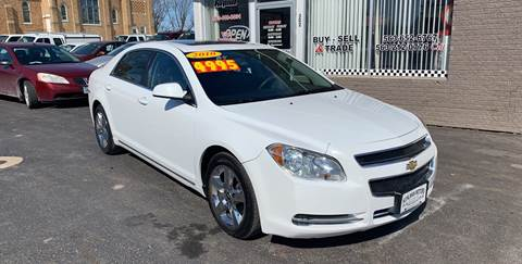 2010 Chevrolet Malibu for sale at KUHLMAN MOTORS in Maquoketa IA