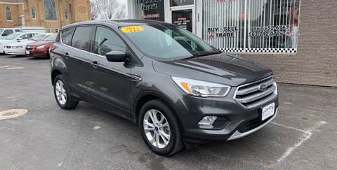 2017 Ford Escape for sale at KUHLMAN MOTORS in Maquoketa IA