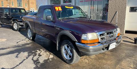 1998 Ford Ranger for sale at KUHLMAN MOTORS in Maquoketa IA