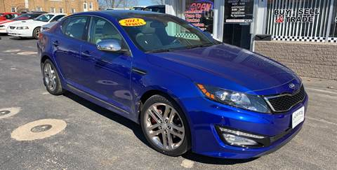 2013 Kia Optima for sale at KUHLMAN MOTORS in Maquoketa IA