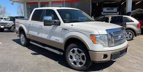 2012 Ford F-150 for sale at KUHLMAN MOTORS in Maquoketa IA