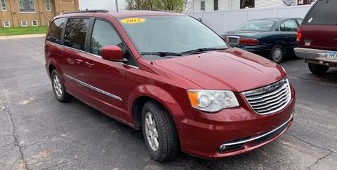 2012 Chrysler Town and Country for sale at KUHLMAN MOTORS in Maquoketa IA