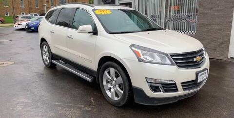 2013 Chevrolet Traverse for sale at KUHLMAN MOTORS in Maquoketa IA